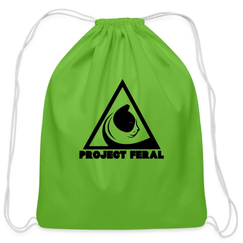Project feral fundraiser - Cotton Drawstring Bag