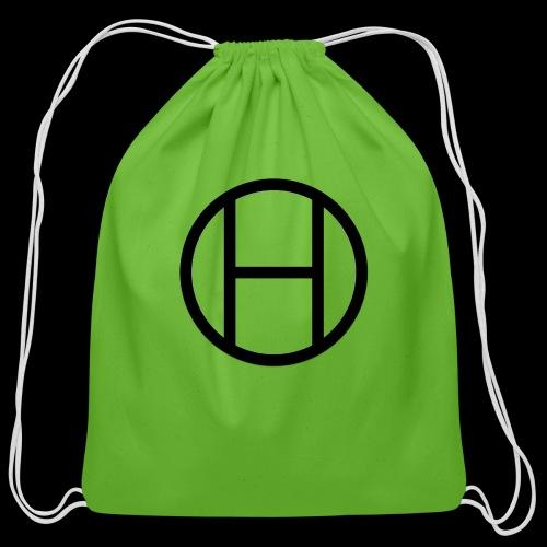 logo premium tee - Cotton Drawstring Bag