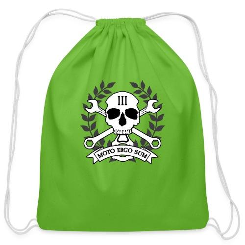 Moto Ergo Sum - Cotton Drawstring Bag