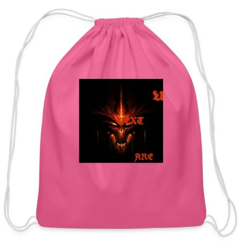 demons!! - Cotton Drawstring Bag