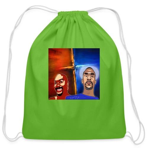 pretty tony galaxy 7 edge case - Cotton Drawstring Bag