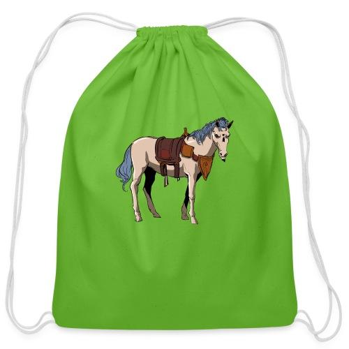 Useless the Horse png - Cotton Drawstring Bag