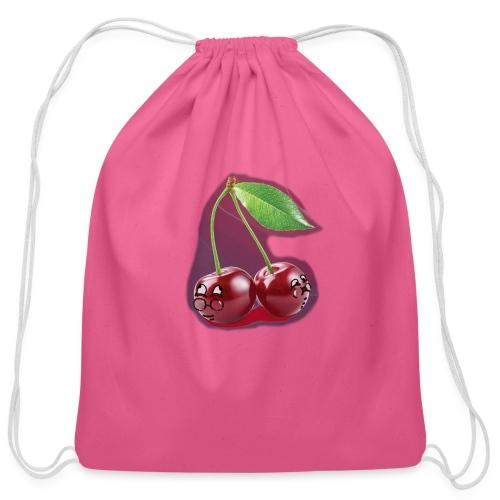 Cherry Bombs - Cotton Drawstring Bag