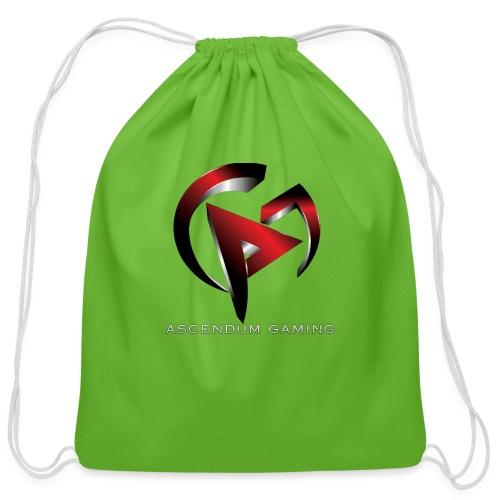 Ascendum Gaming Logo - Cotton Drawstring Bag