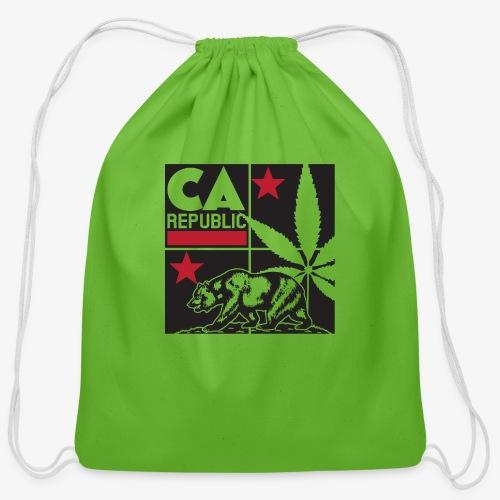grid2 png - Cotton Drawstring Bag