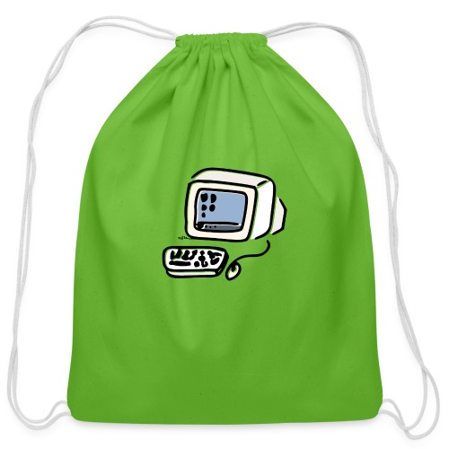 Cathodic Computer - Cotton Drawstring Bag