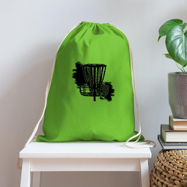 Disc Golf Basket Paint Black Print