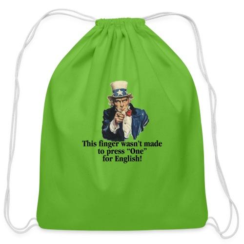 Uncle Sam - Finger - Cotton Drawstring Bag