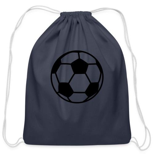 custom soccer ball team - Cotton Drawstring Bag