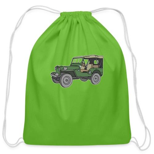 SUV, all-terrain vehicle - Cotton Drawstring Bag