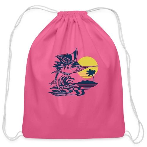 Sailfish - Cotton Drawstring Bag