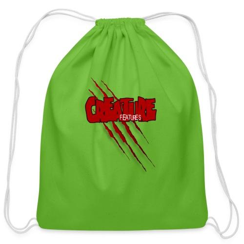 Creature Features Slash T - Cotton Drawstring Bag