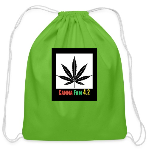 Canna Fams #2 design - Cotton Drawstring Bag