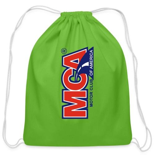 MCA Logo Iphone png - Cotton Drawstring Bag