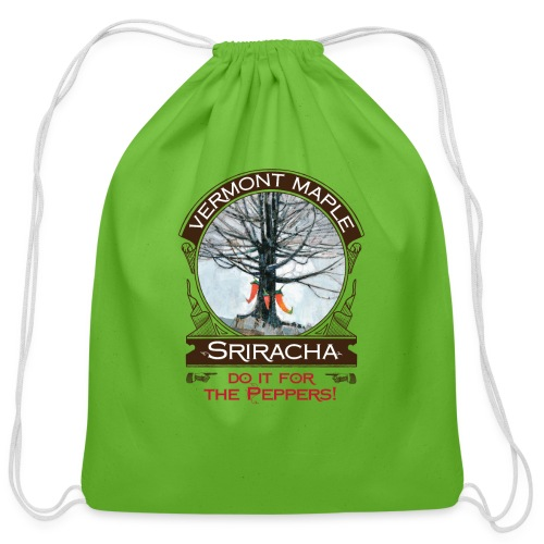 Vermont Maple Sriracha - Cotton Drawstring Bag