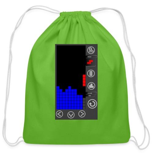 Lazy Eye Blocks - Play - Cotton Drawstring Bag