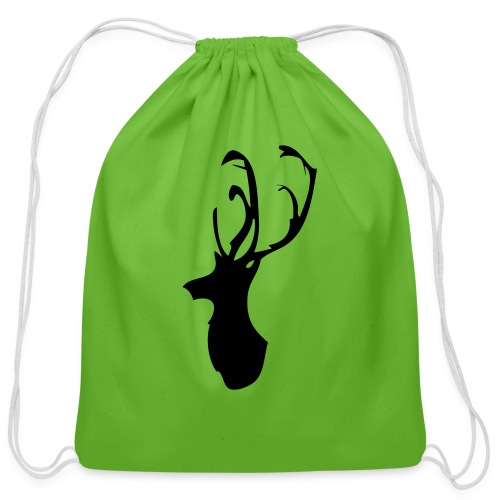 Mesanbrau Stag logo - Cotton Drawstring Bag