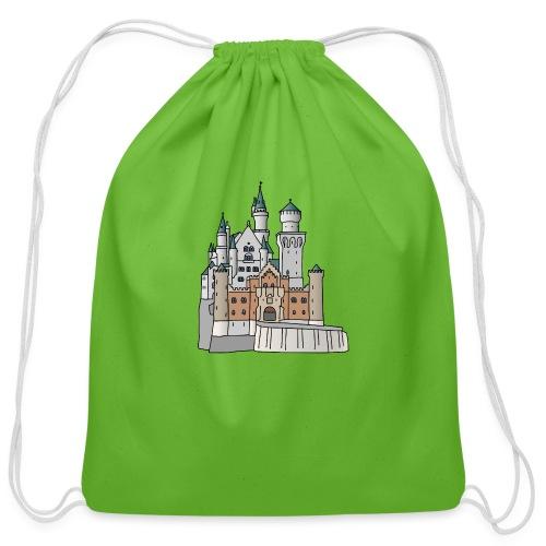 Neuschwanstein Castle, Bavaria - Cotton Drawstring Bag