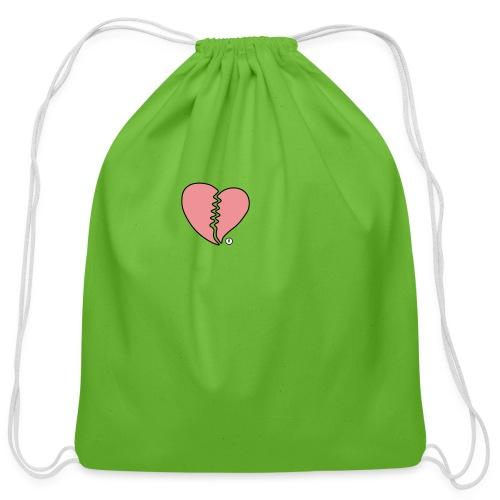 Heartbreak - Cotton Drawstring Bag