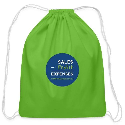 PFP Profit First Equation - Cotton Drawstring Bag