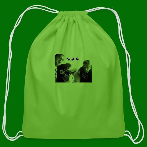 D N BW 2 - Cotton Drawstring Bag