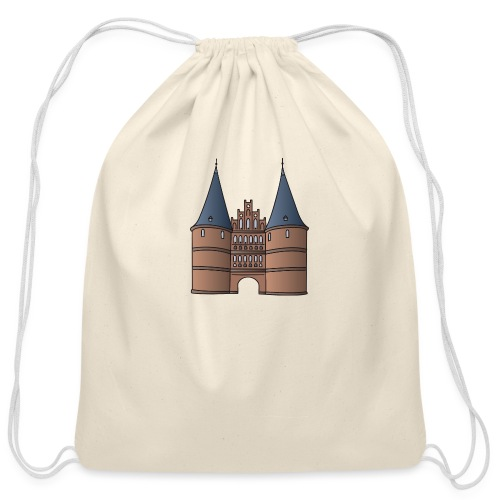 Citygate, Holstentor Lübeck - Cotton Drawstring Bag