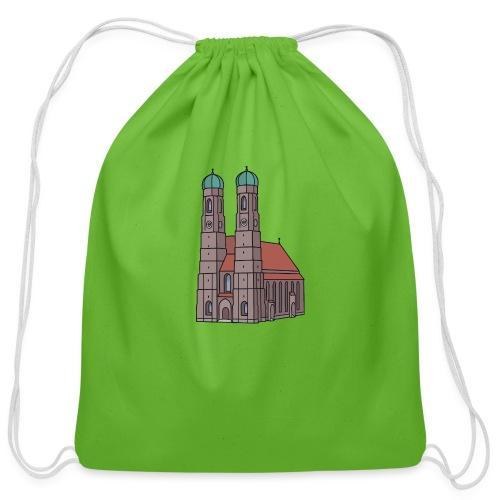 Munich Frauenkirche - Cotton Drawstring Bag