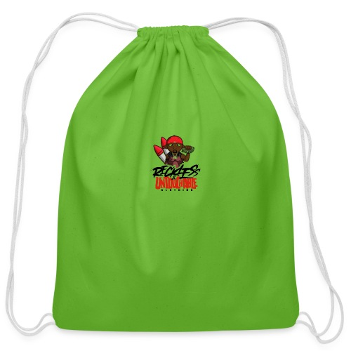 Reckless and Untouchable_1 - Cotton Drawstring Bag