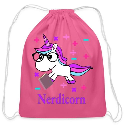 Nerdicorn! - Cotton Drawstring Bag
