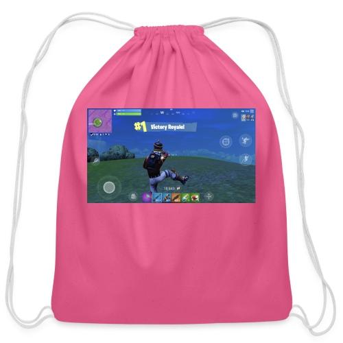My First Win! - Cotton Drawstring Bag