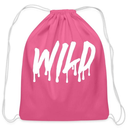 WILDlogosmooth - Cotton Drawstring Bag