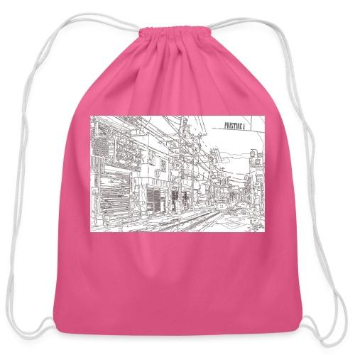 StreetLines - Cotton Drawstring Bag