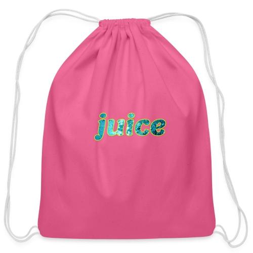 juice - Cotton Drawstring Bag
