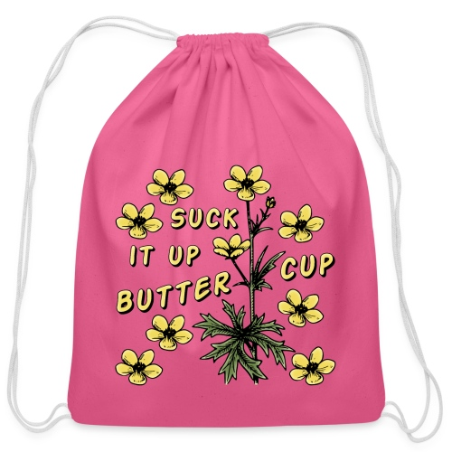 Buttercup - Cotton Drawstring Bag