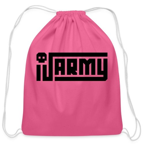 iJustine - iJ Army Logo - Cotton Drawstring Bag