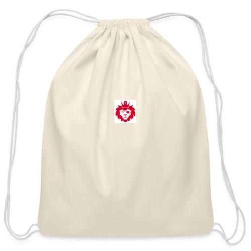 E JUST LION - Cotton Drawstring Bag