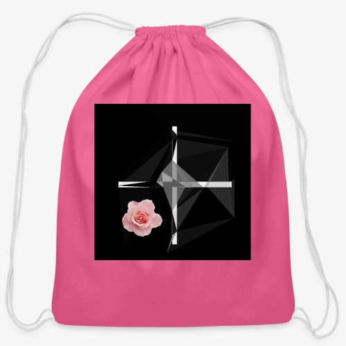 Roses and their thorns - Cotton Drawstring Bag
