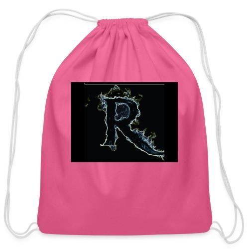 445 pin - Cotton Drawstring Bag