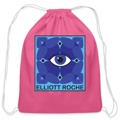 ElliottBlueEye - Cotton Drawstring Bag
