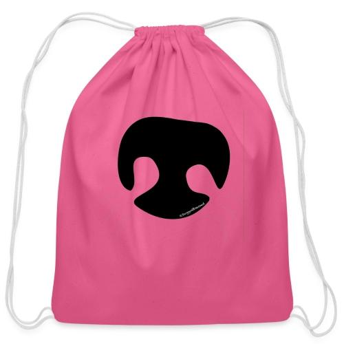 Dog Nose - Cotton Drawstring Bag