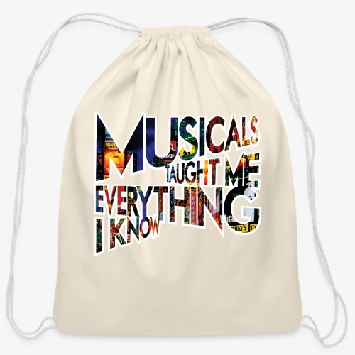 MTMEIK Broadway - Cotton Drawstring Bag