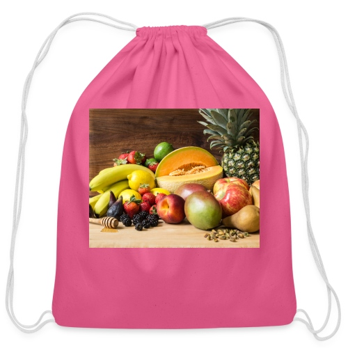 Fruit Medley 0792 - Cotton Drawstring Bag