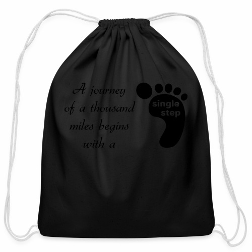 Single Step - Cotton Drawstring Bag