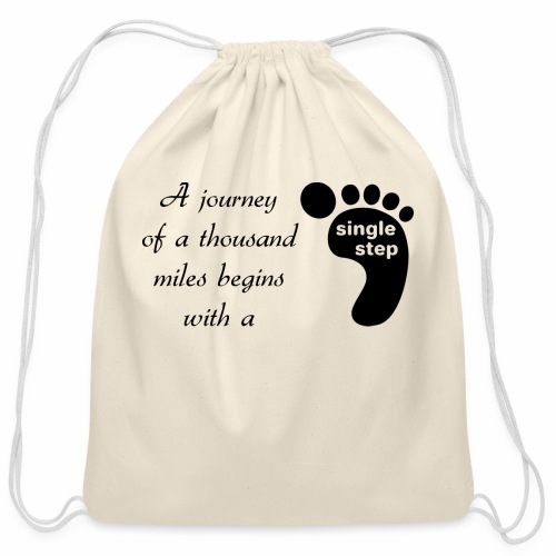 Single Step - Cotton Drawstring Bag