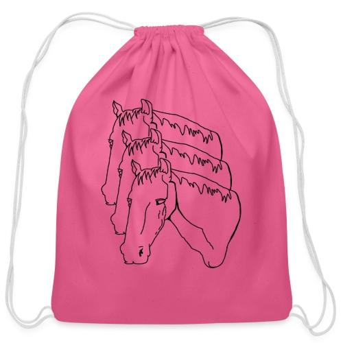 horsey pants - Cotton Drawstring Bag