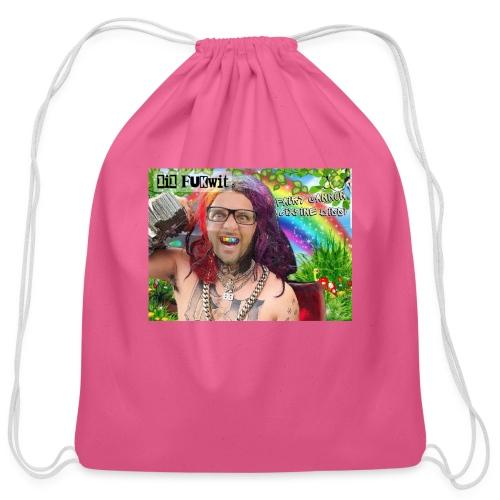 Fairy cannon - Cotton Drawstring Bag