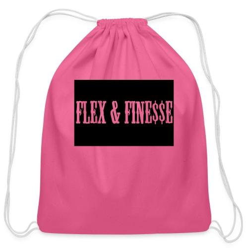 Flex & Fine$$e - Cotton Drawstring Bag
