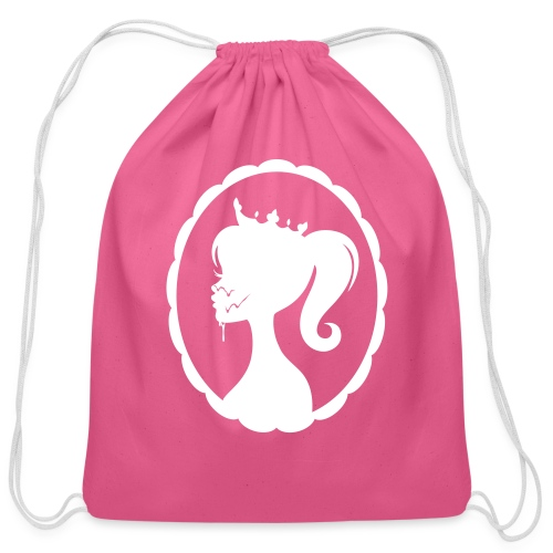 Cum Princess 2 - Cotton Drawstring Bag