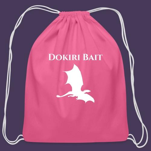 Dokiri Bait White - Cotton Drawstring Bag