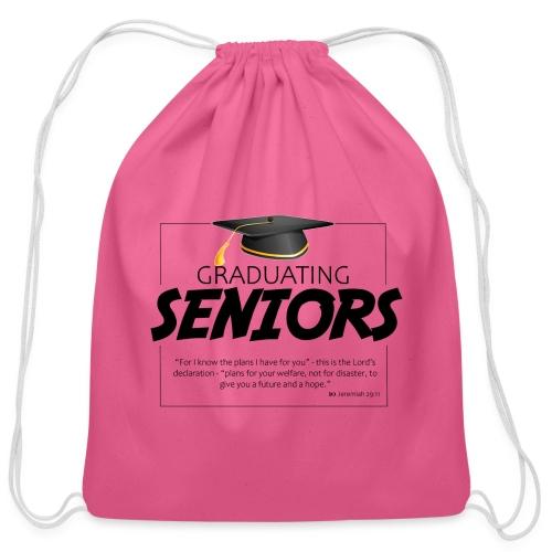 Graduating Seniors - Cotton Drawstring Bag